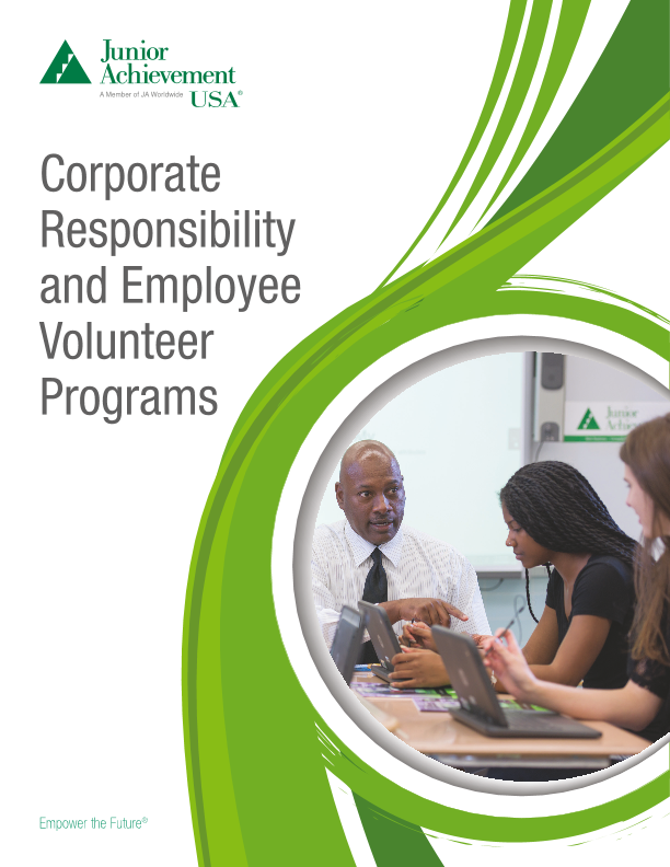 Corporate Responsibility and Employee Volunteer Program