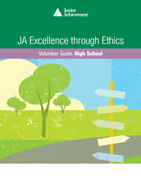JA Excellence through Ethics curriculum cover
